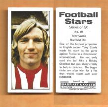 Sheffield United Tony Currie 10 (BR)